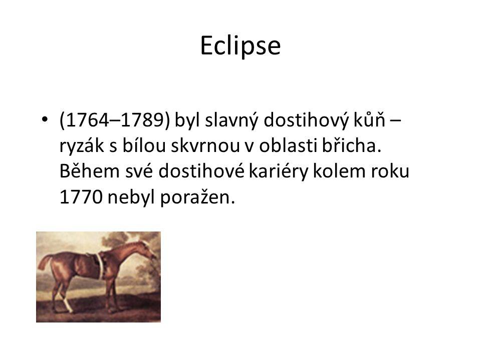 Eclipse (1764–1789) byl slavný dostihový kůň – ryzák s bílou skvrnou v oblasti břicha.