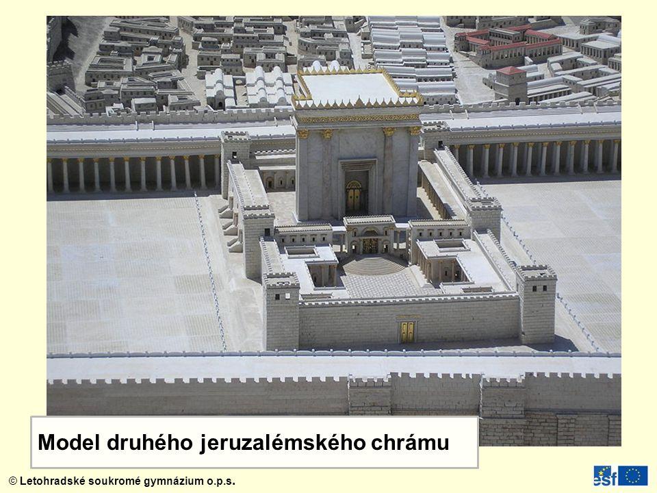 Model druhého jeruzalémského chrámu