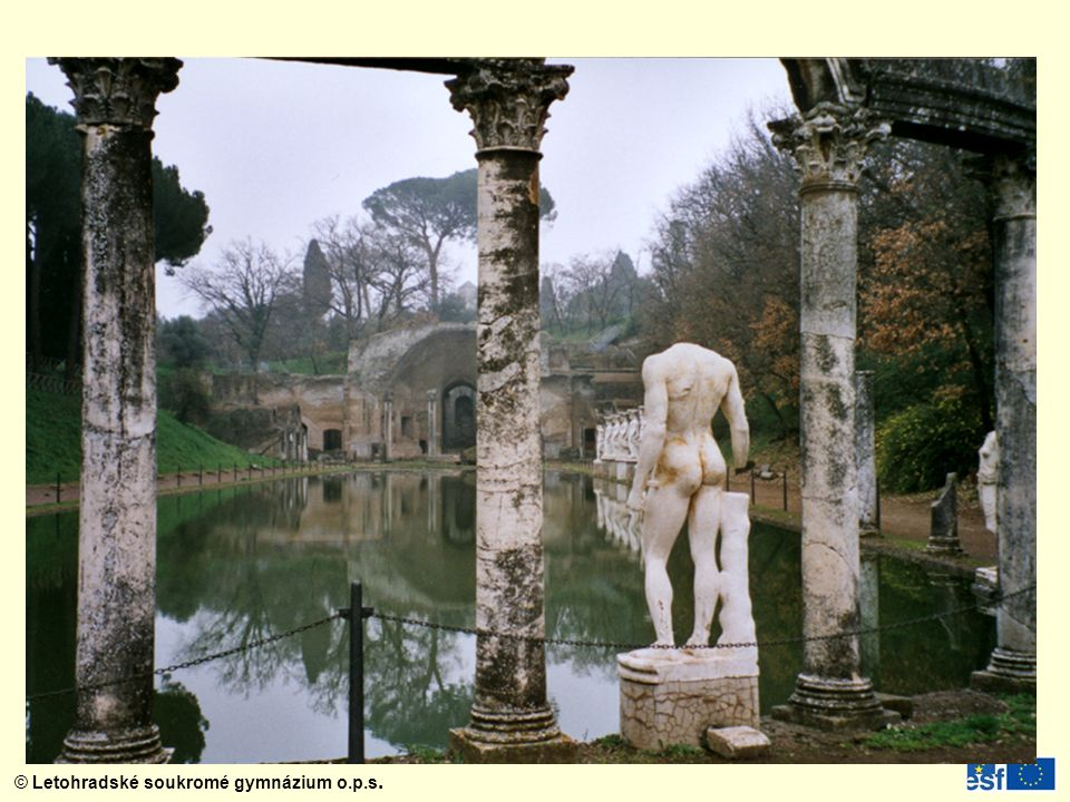 Hadriánova vila v Tivoli