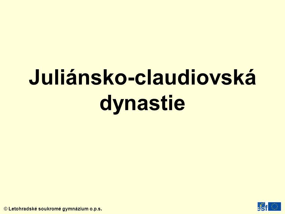Juliánsko-claudiovská dynastie
