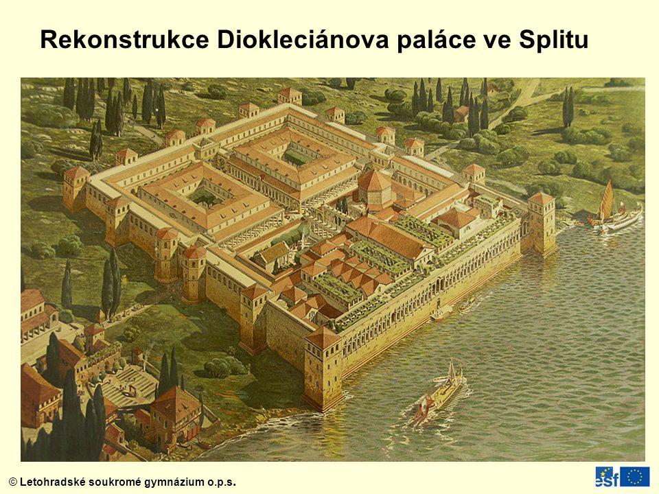 Rekonstrukce Diokleciánova paláce ve Splitu