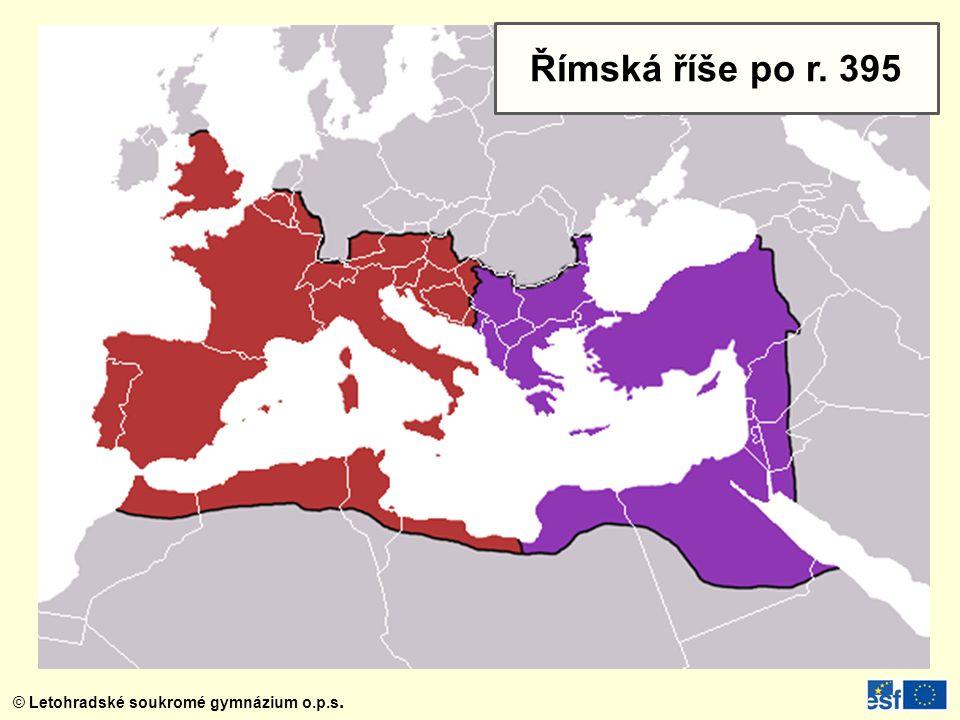 Římská říše po r. 395