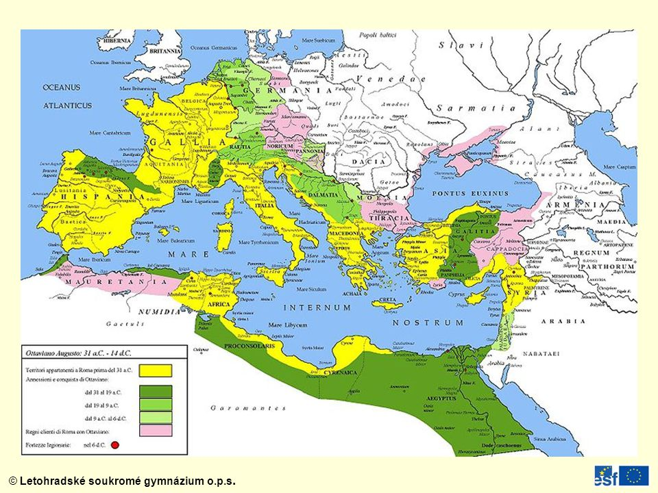 Římské impérium za Octaviana Augusta