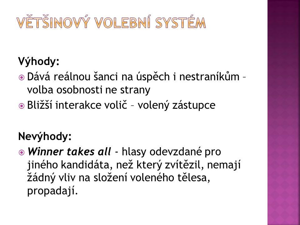 Většinový volební systém