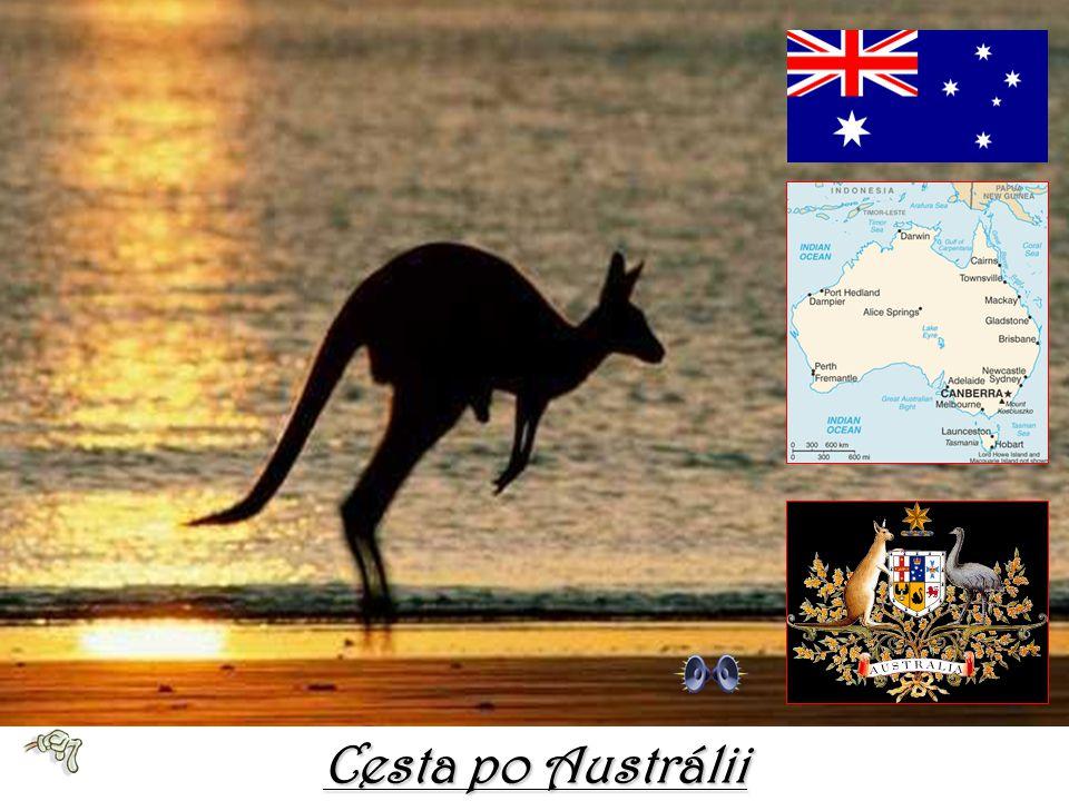 Cesta po Austrálii