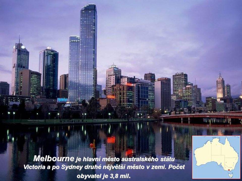 Melbourne je hlavní město australského státu Victoria a po Sydney druhé nějvětší město v zemi.