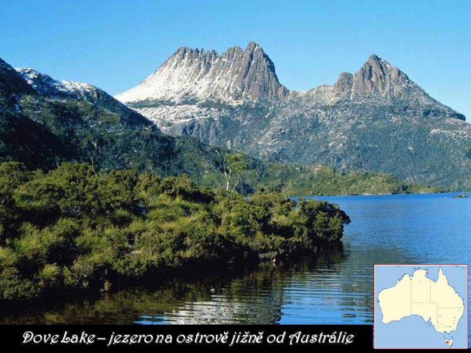 Dove Lake – jezero na ostrově jižně od Austrálie