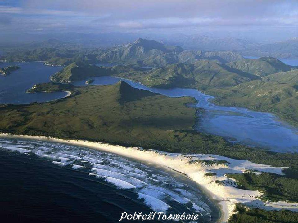 Pobřeží Tasmánie
