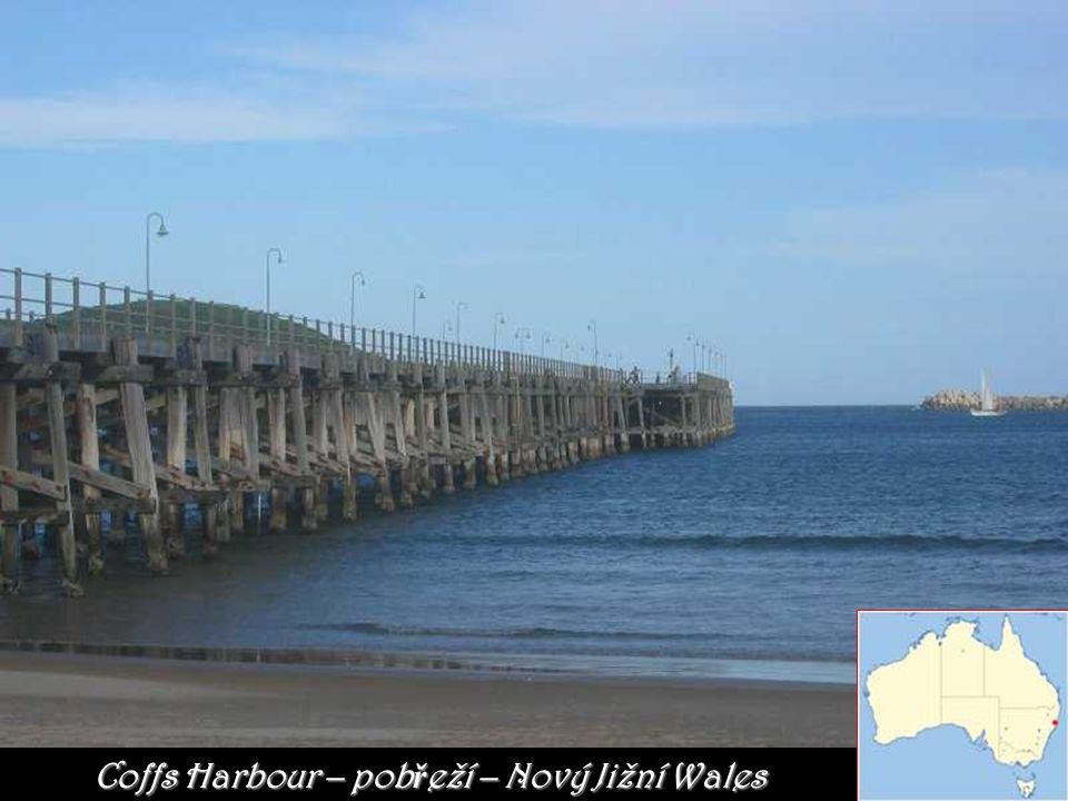 Coffs Harbour – pobřeží – Nový Jižní Wales