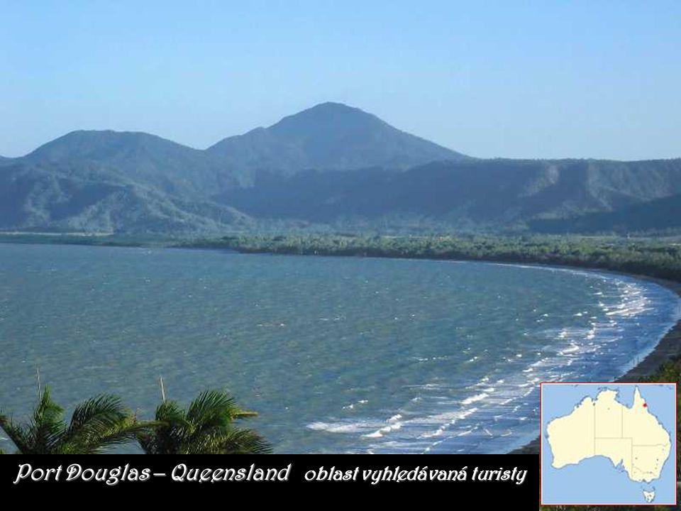 Port Douglas – Queensland oblast vyhledávaná turisty