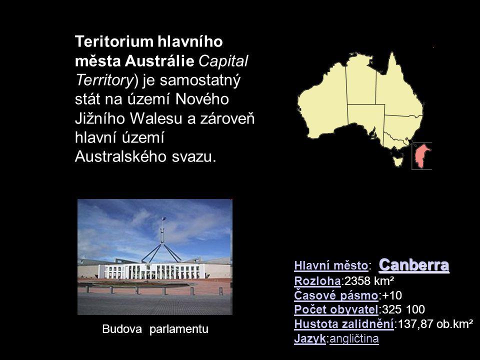 Teritorium hlavního města Austrálie Capital Territory) je samostatný stát na území Nového Jižního Walesu a zároveň hlavní území Australského svazu.
