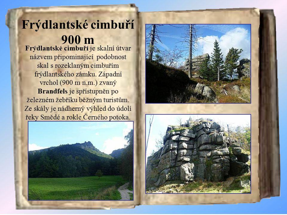 Frýdlantské cimbuří 900 m