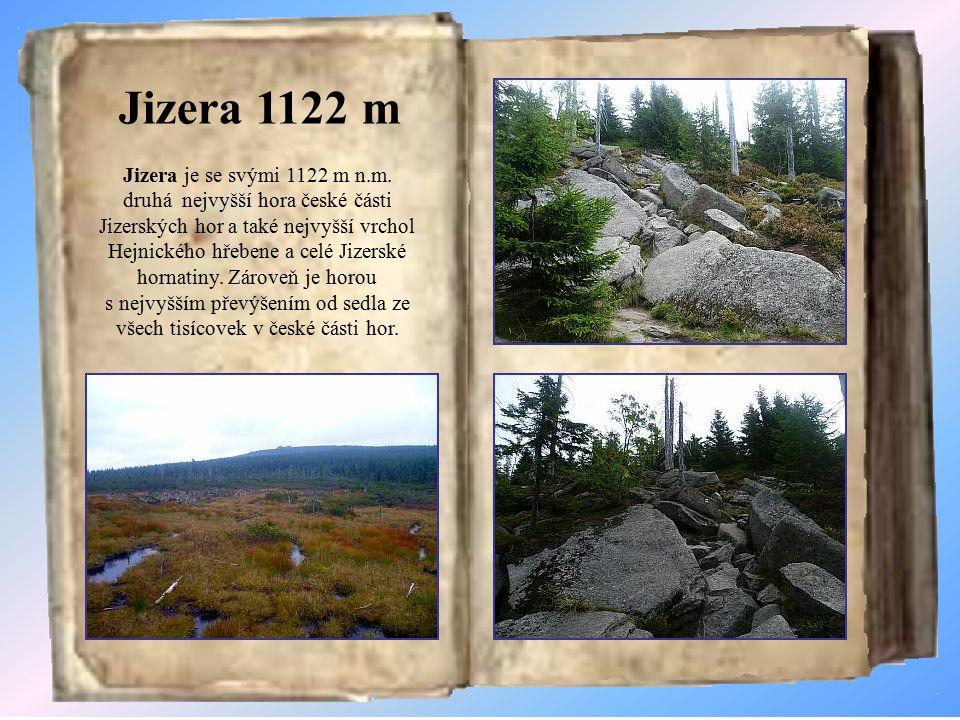 Jizera 1122 m