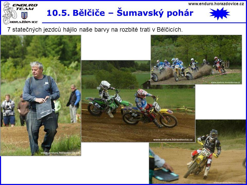 10.5. Bělčiče – Šumavský pohár
