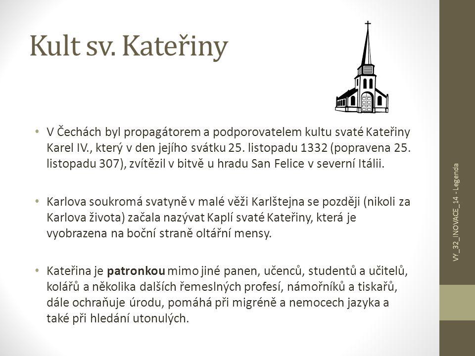 Kult sv. Kateřiny