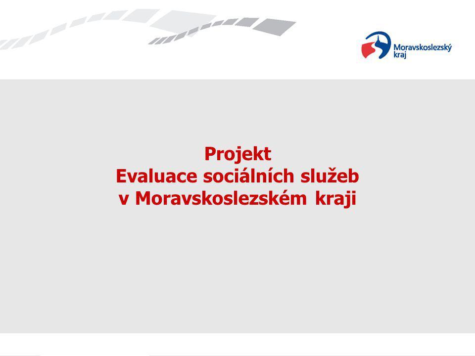 Projekt Evaluace sociálních služeb v Moravskoslezském kraji