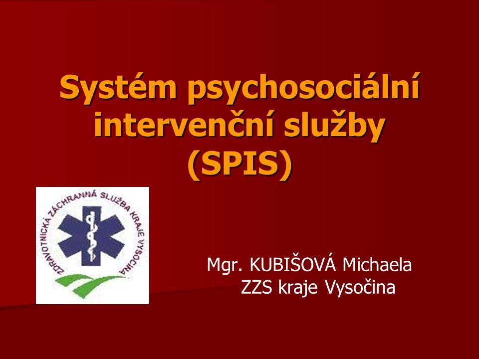 Systém psychosociální intervenční služby (SPIS)
