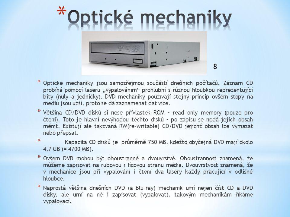 Optické mechaniky 8.