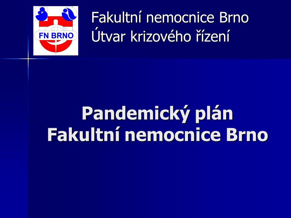 Pandemický plán Fakultní nemocnice Brno