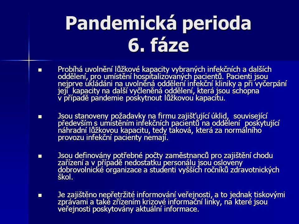 Pandemická perioda 6. fáze
