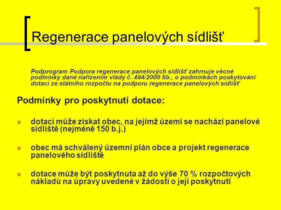 Regenerace panelových sídlišť
