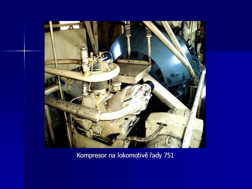Kompresor na lokomotivě řady 751