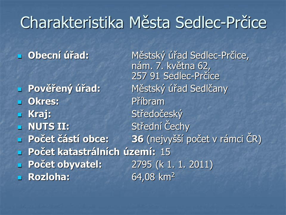 Charakteristika Města Sedlec-Prčice