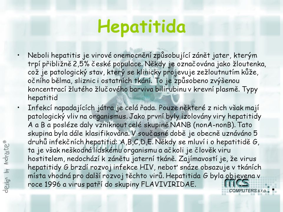 Hepatitida