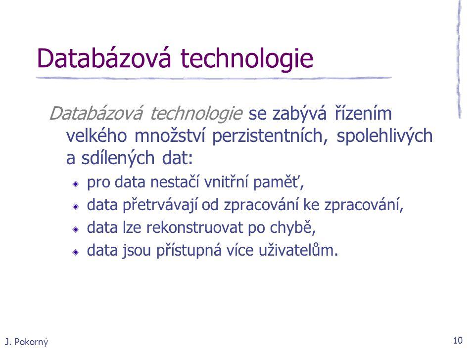 Databázová technologie