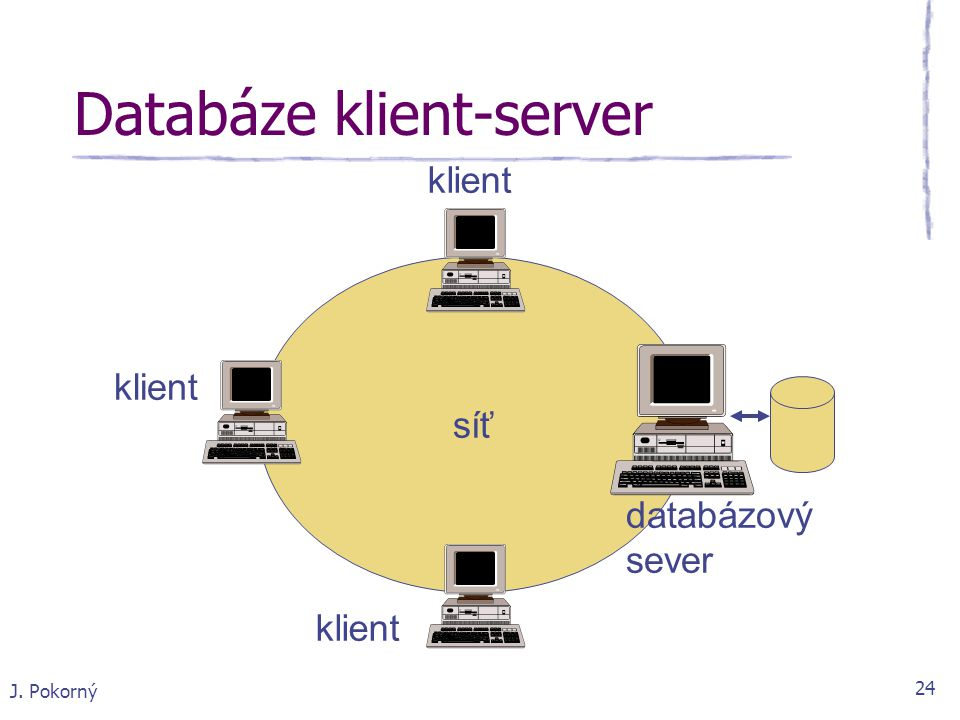 Databáze klient-server