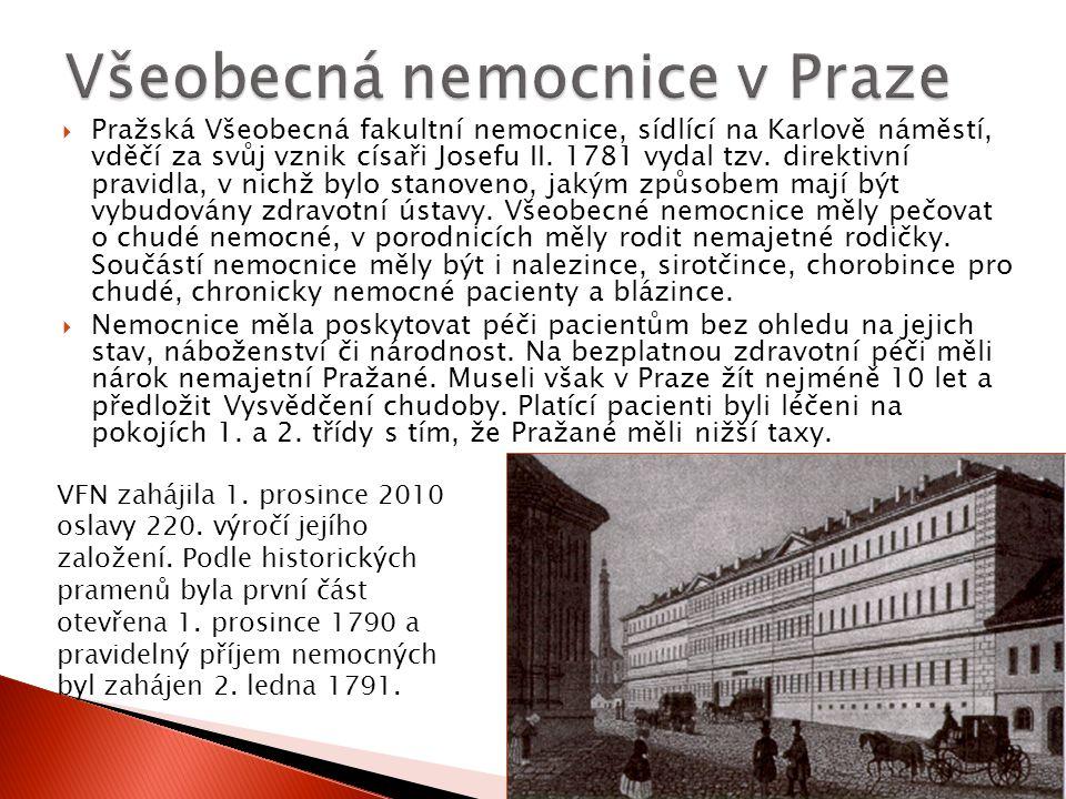 Všeobecná nemocnice v Praze