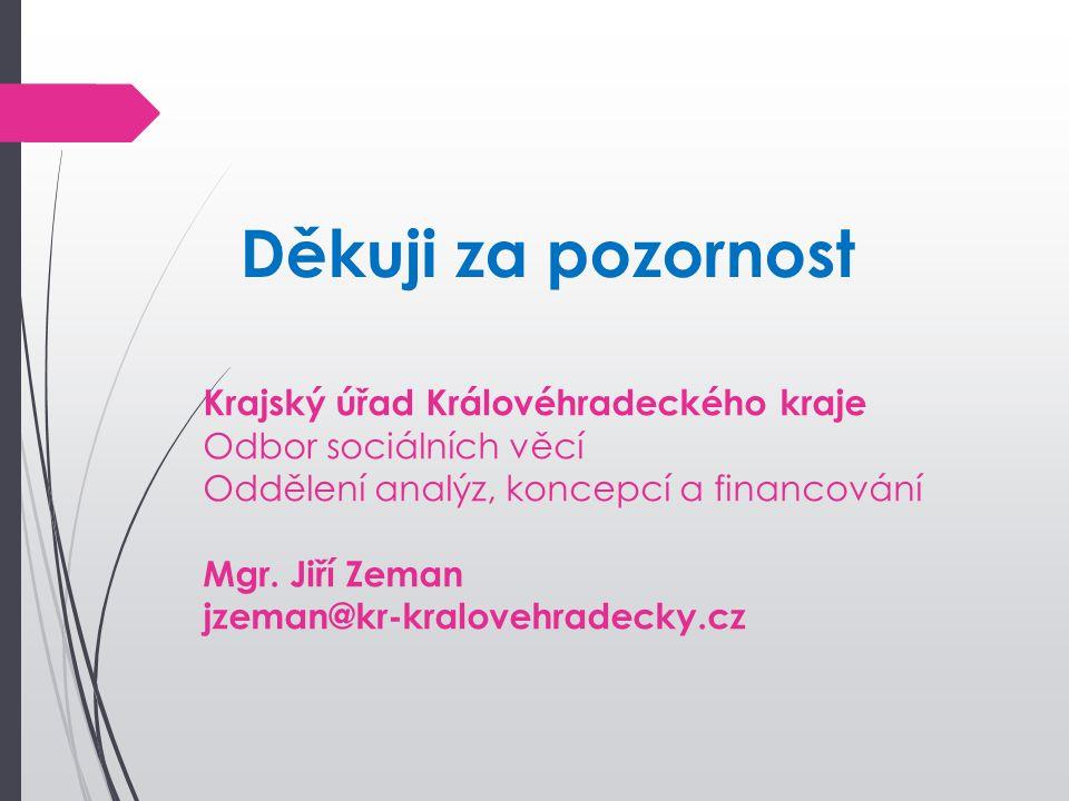 Děkuji za pozornost Krajský úřad Královéhradeckého kraje