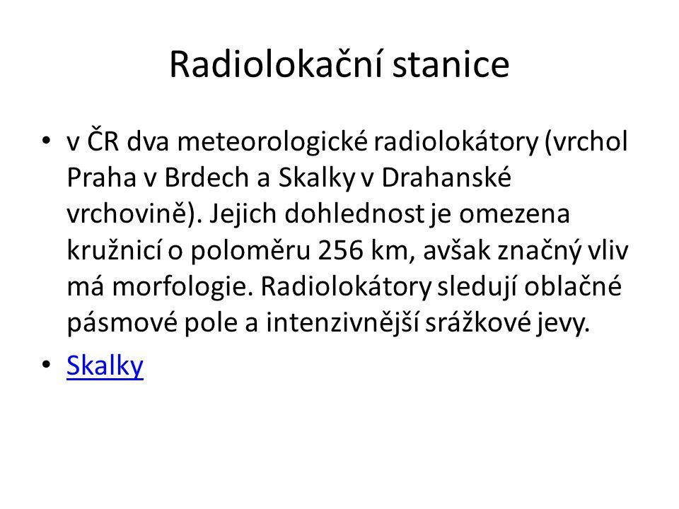 Radiolokační stanice