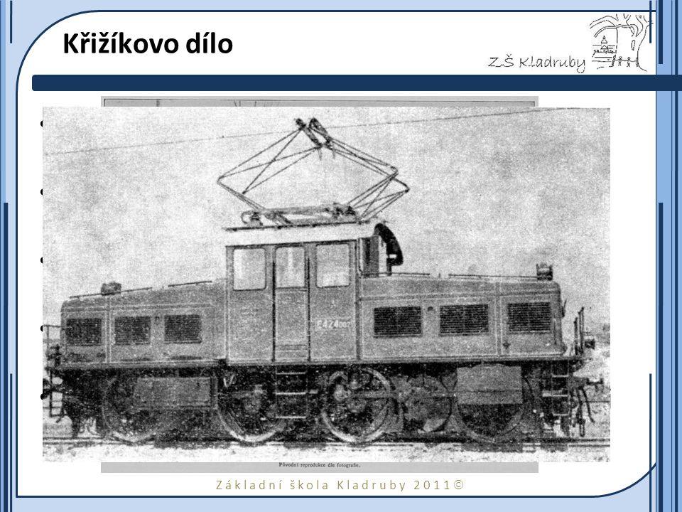 Křižíkovo dílo Zdokonalil obloukovou lampu - Křižíkova diferenciální oblouková lampa.