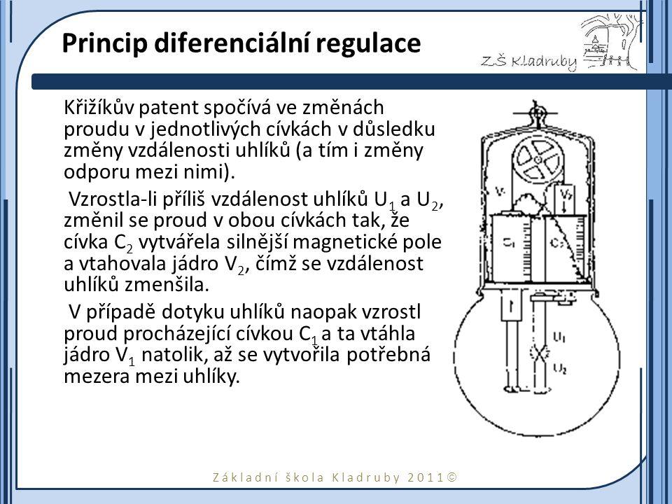Princip diferenciální regulace