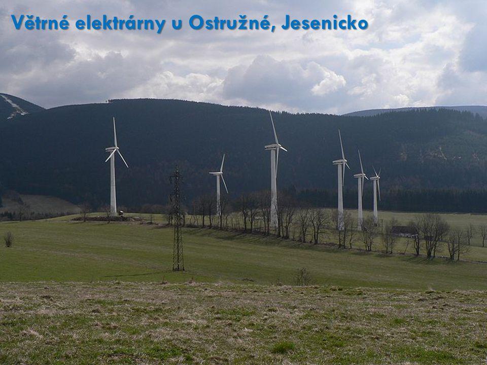 Větrné elektrárny u Ostružné, Jesenicko