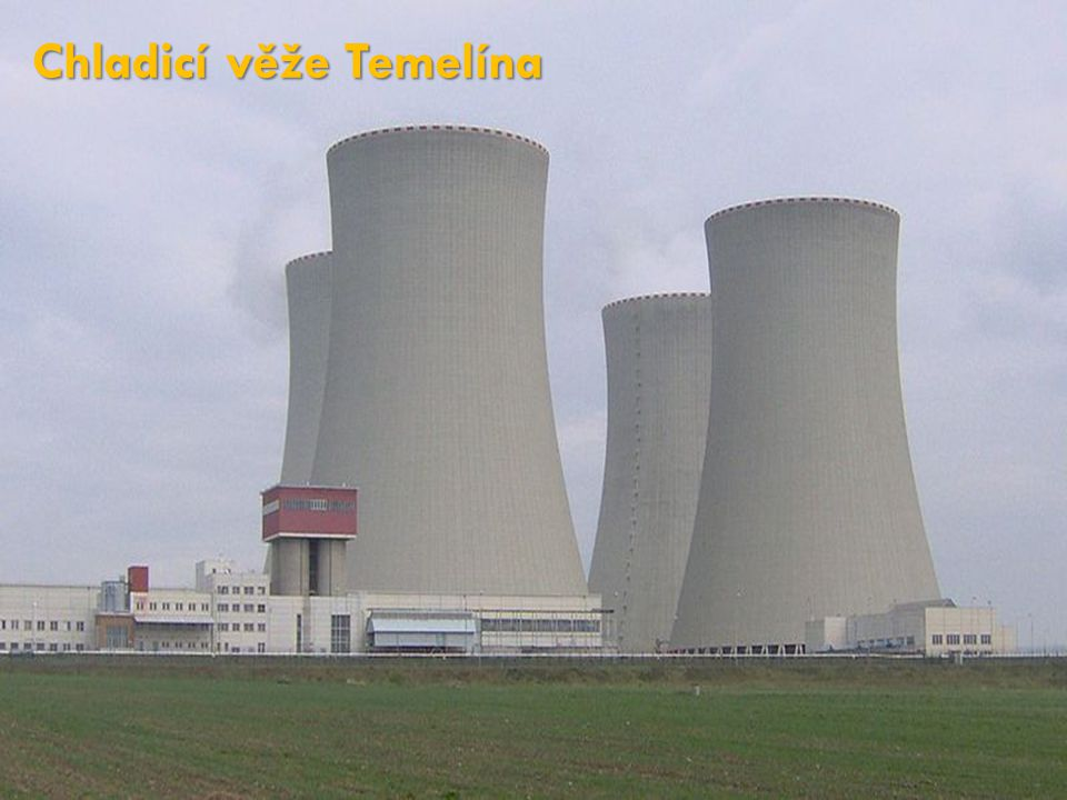 Chladicí věže Temelína
