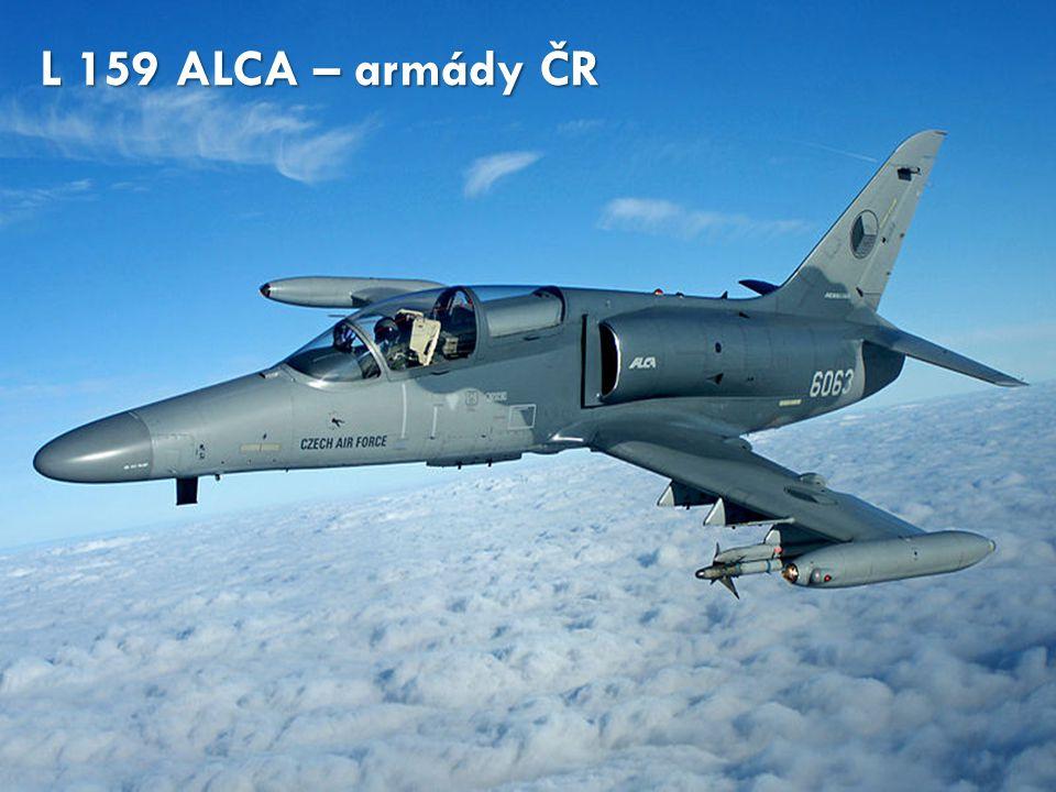 L 159 ALCA – armády ČR http://cs.wikipedia.org/wiki/Soubor:Czech_Air_Force_6063_(6384233265).jpg