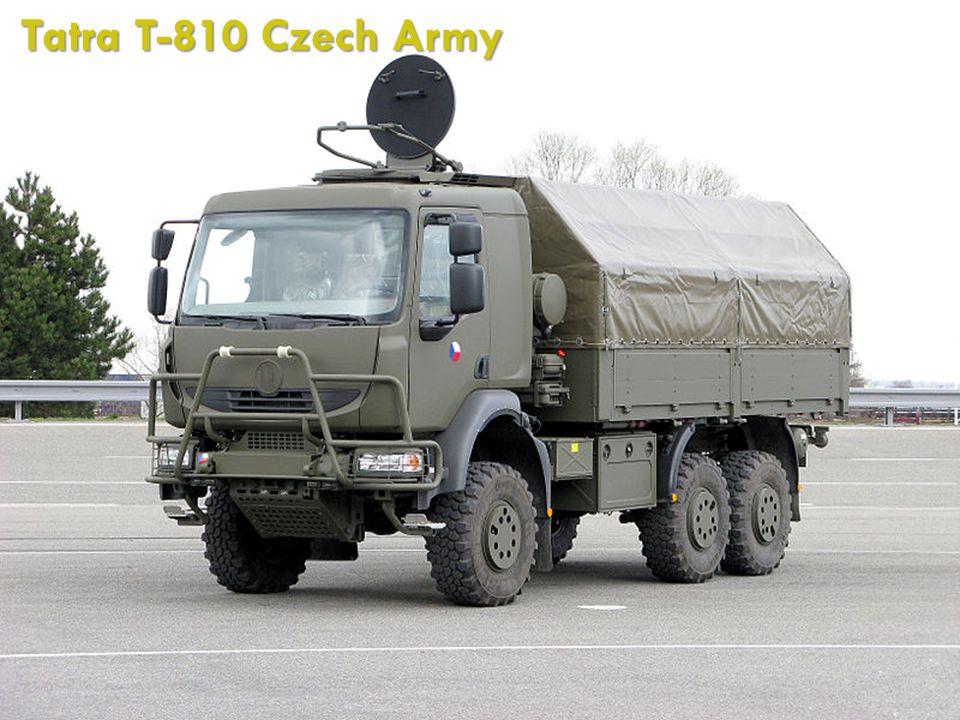 Tatra T-810 Czech Army http://cs.wikipedia.org/wiki/Soubor:Tatra_T-810_Czech_Army_01.jpg