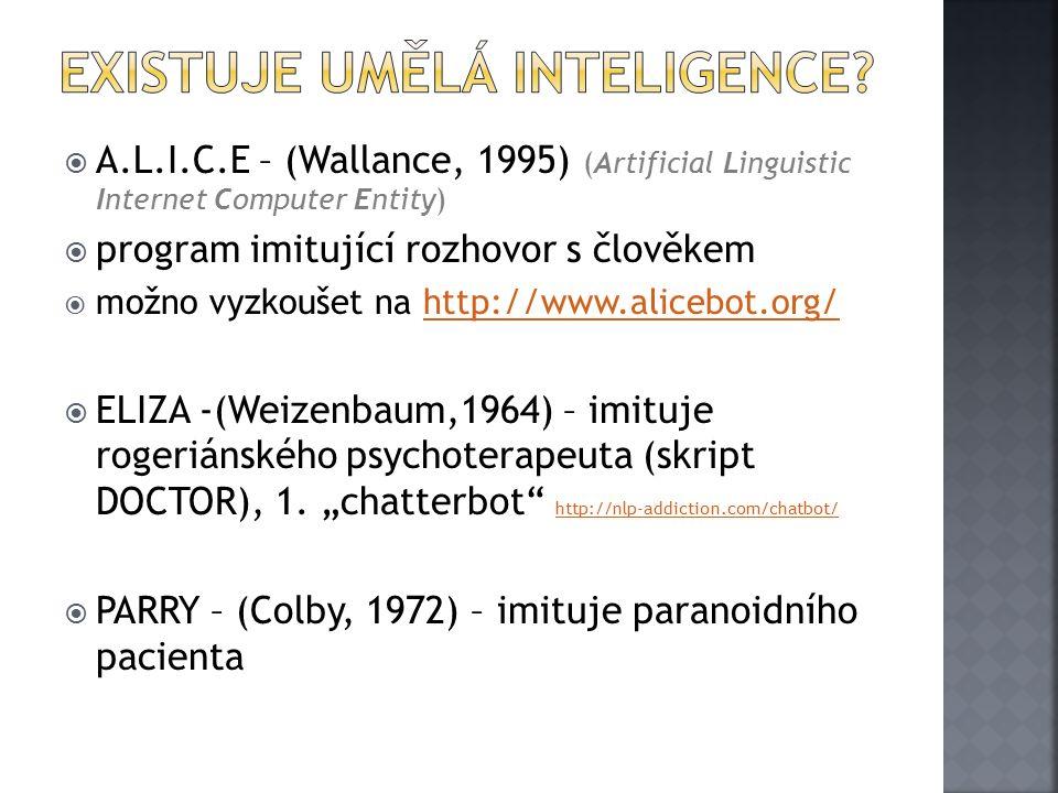 Existuje umělá inteligence