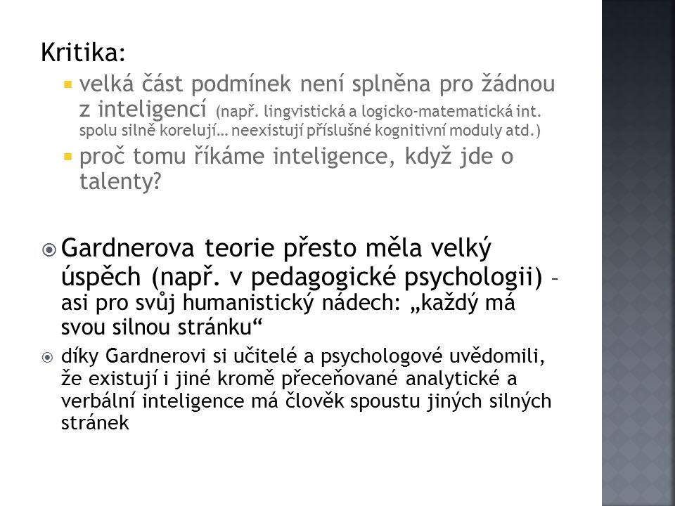 Kritika: