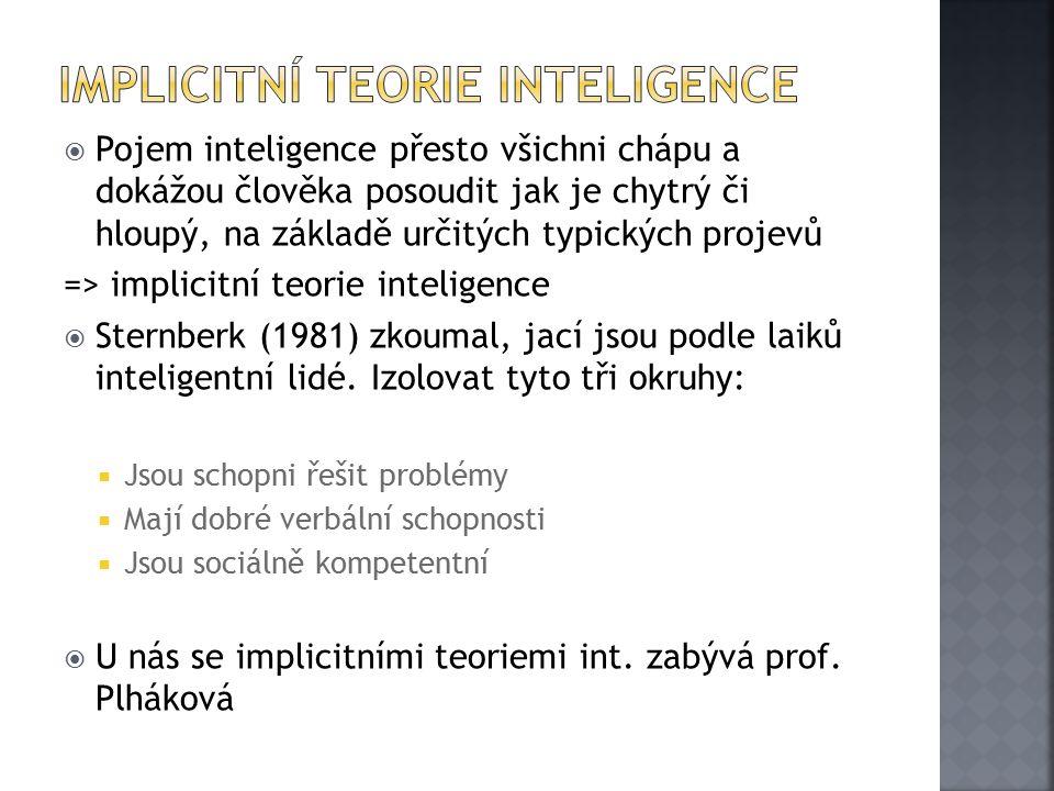 Implicitní teorie inteligence
