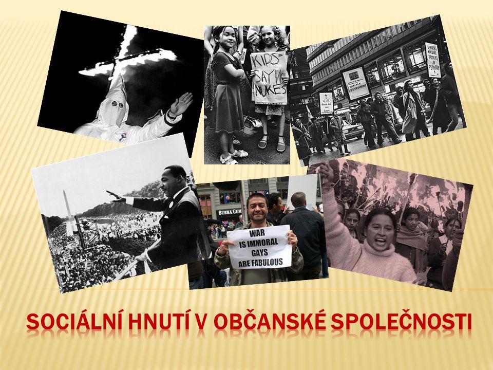 Sociální hnutí v občanské společnosti