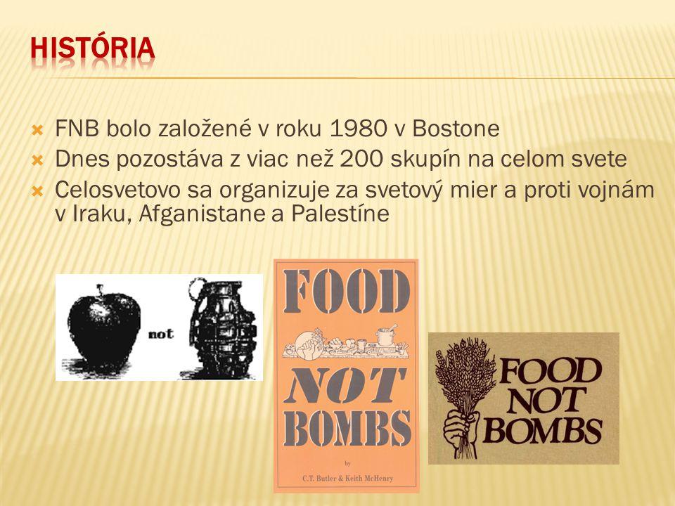 História FNB bolo založené v roku 1980 v Bostone
