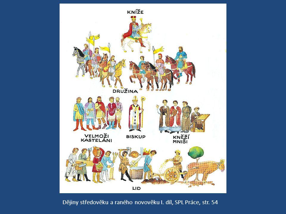 Dějiny středověku a raného novověku I. díl, SPL Práce, str. 54