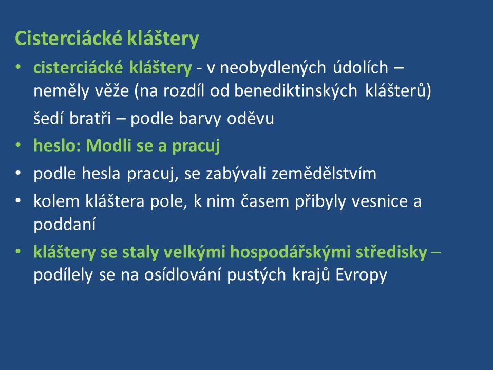 Cisterciácké kláštery