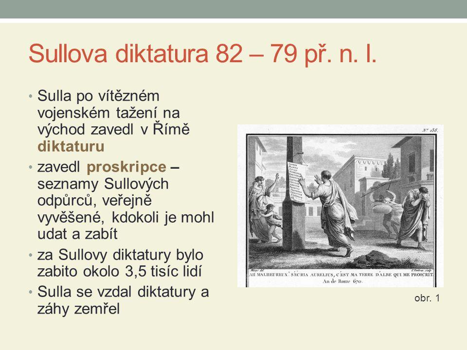 Sullova diktatura 82 – 79 př. n. l.