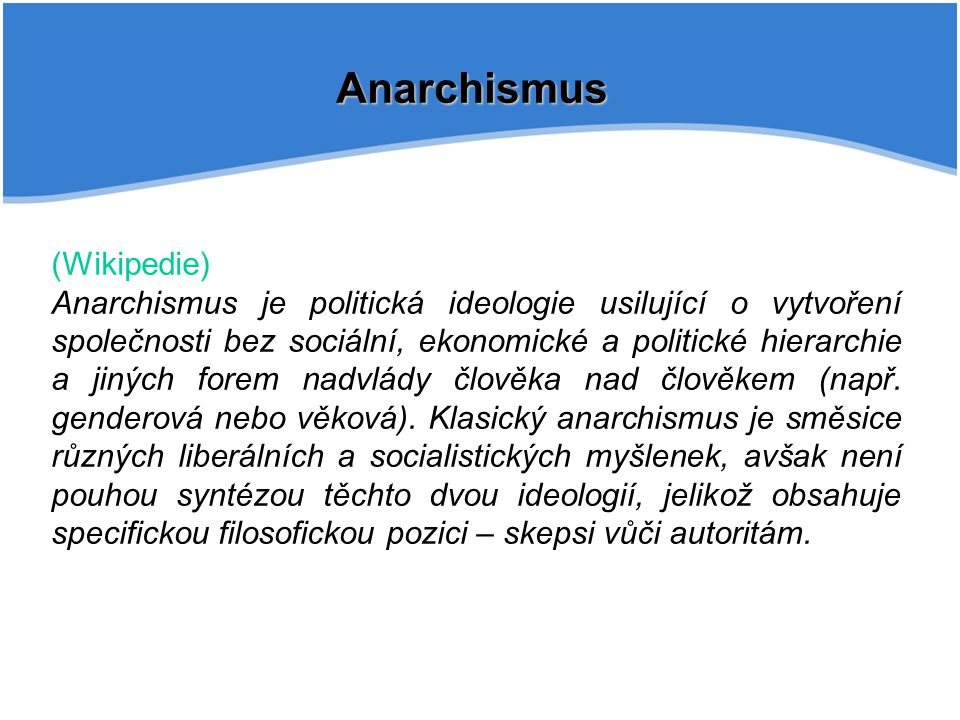 Anarchismus (Wikipedie)