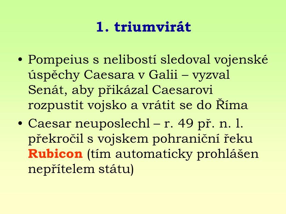 1. triumvirát