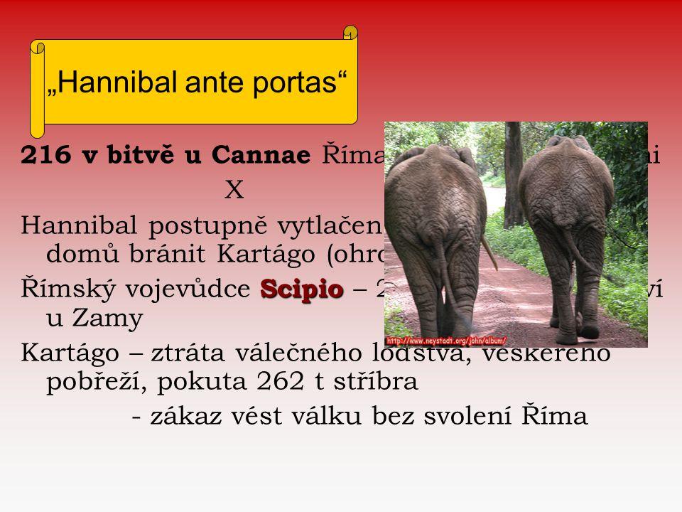 """""""Hannibal ante portas"""
